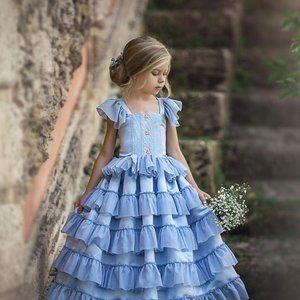 Dollcake Tea at Tiffany Frock Dress NWT sz 7